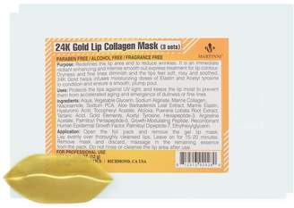 Martinni Beauty 24K Gold Lip Collagen Mask (3 Treatments Included) (2 PK)