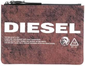 Diesel Lusina denim purse