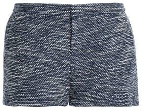 Joie Cotton-Blend Bouclé-Tweed Shorts
