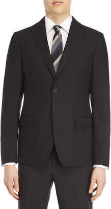 DKNY Black Textured Sport Coat