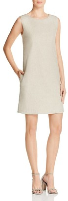 Theory Didianne Linen-Blend Dress $325 thestylecure.com