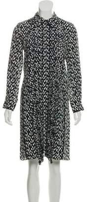 Marni Silk Printed Dress
