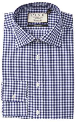 Thomas Pink Check The Sterling Classic Fit Dress Shirt