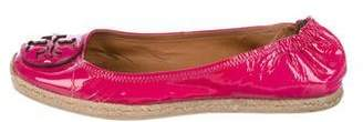 Tory Burch Patent Leather Espadrilles