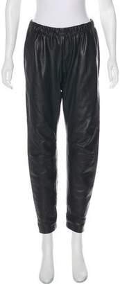 Vince Leather Skinny Pants