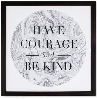 Graham & Brown Have Courage and Be Kind Framed Print