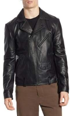 Vince Perfecto Leather Jacket