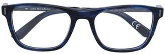 Calvin Klein Jeans printed glasses frame