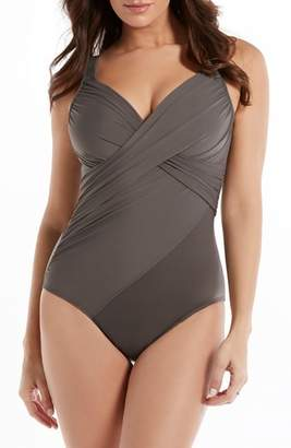 Miraclesuit R) Rock Solid Revele One-Piece Swimsuit