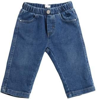 Il Gufo Denim Effect Cotton Pants