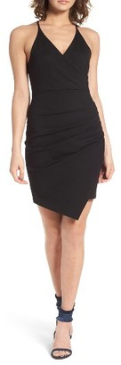 Women's Soprano Asymmetrical Body-Con Dress $49 thestylecure.com
