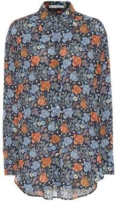 Acne Studios Floral-printed shirt