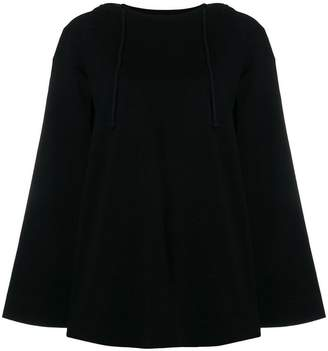 Juun.J slouched hooded sweater
