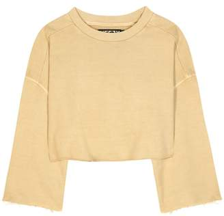 Yeezy Cropped cotton sweater (SEASON 1)