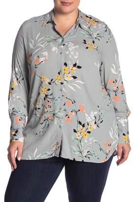 14th & Union Button Up Tunic Shirt