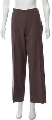 Agnona Wool Mid-Rise Pants
