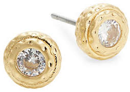 Kate Spade Elegant Edge Crystal Stud Earrings