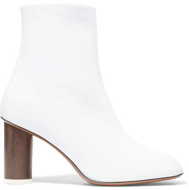 Neous - Spath Leather Ankle Boots - White