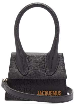 Jacquemus Le Chiquito Grained Leather Cross Body Bag - Womens - Black