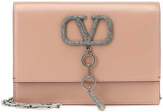 Valentino VCASE Small leather shoulder bag