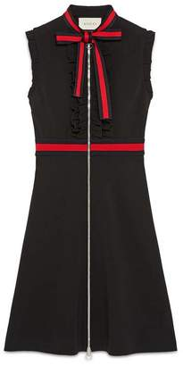 Gucci Jersey dress with Web trim