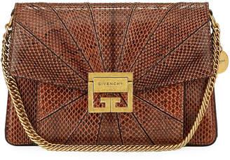 Givenchy GV3 Small Snakeskin Box Shoulder Bag