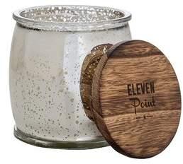 ElevenPoint Mercury Barrel Scent Jar Candle