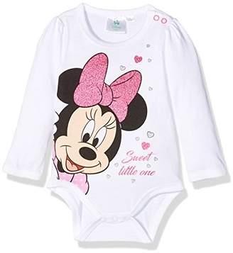 Disney Baby Girls' 160661 Bodysuit, (Blanc)