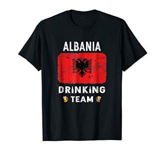 Albania Drinking Team Country Alcohol Beer T Shirt