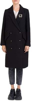The Kooples Ruby Double-Breasted Coat