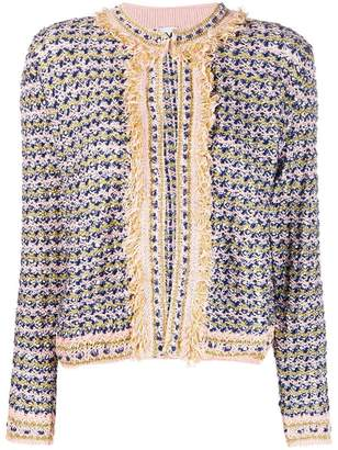 M Missoni knitted tweed cardigan