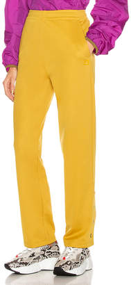 Acne Studios Emmett Face Pant in Amber Yellow | FWRD