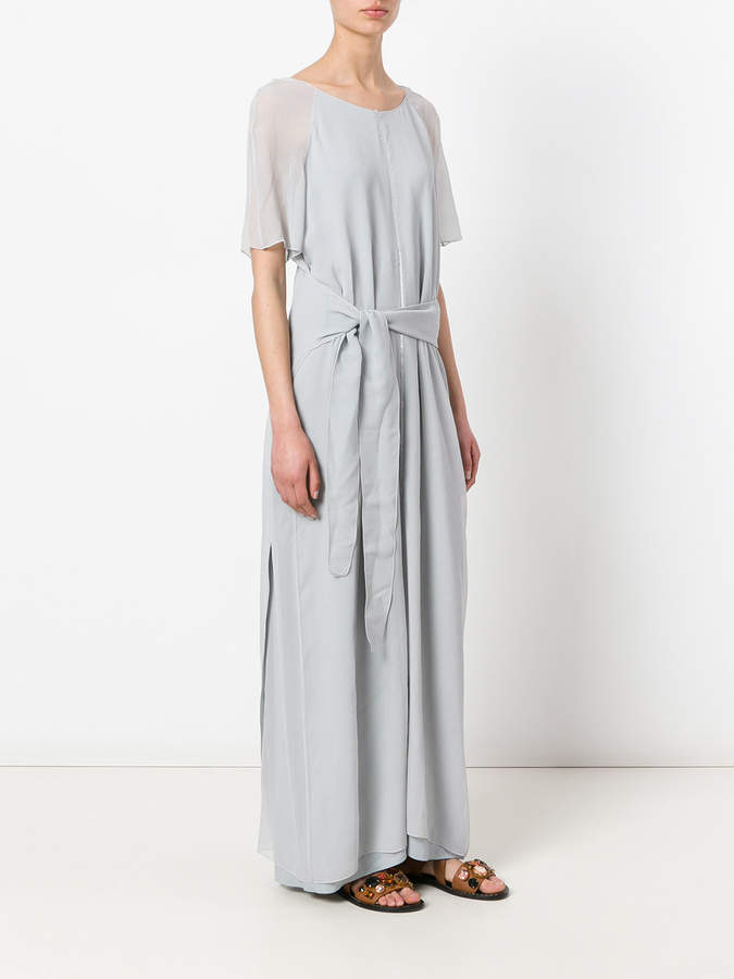 Lorena Antoniazzi tie waist long dress