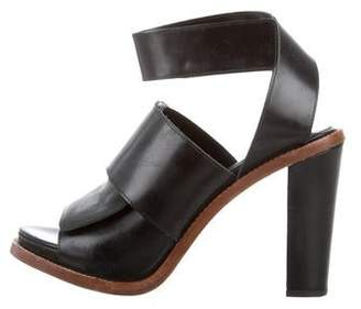 Acne Studios Leather Ankle Strap Sandals