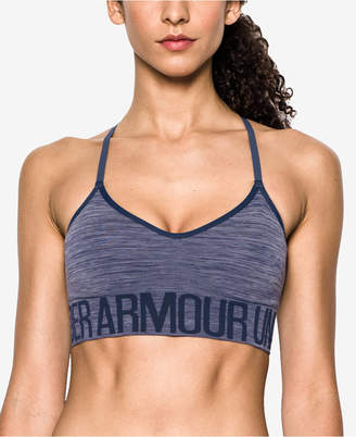 Under Armour Low-Impact Heathered Sports Bra $34.99 thestylecure.com