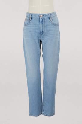 e947f2635e37 ... Etoile Isabel Marant Cliff cotton jeans