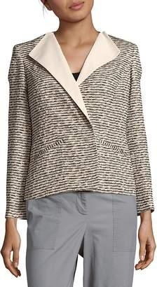 Lafayette 148 New York Women's Textured Long-Sleeve Jacket