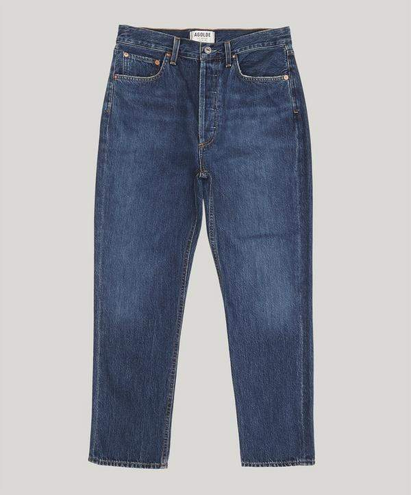 AGOLDE Riley High-Rise Straight Crop Jeans