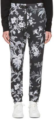 McQ Grey Floral Lounge Pants