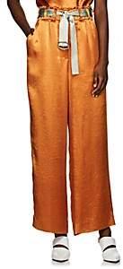 Sies Marjan Women's Flora Satin Wide-Leg Pants - Sienna