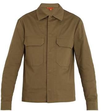 Barena Venezia - Patch Pocket Stretch Cotton Jacket - Mens - Green