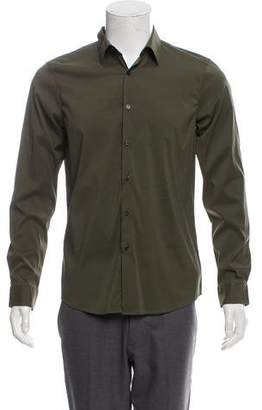 Michael Kors Army Button-Up Shirt