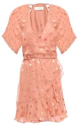 Mason by Michelle Mason Fil Coupe Silk-blend Chiffon Mini Dress