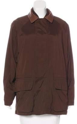 Loro Piana Layered Zip-Up Coat