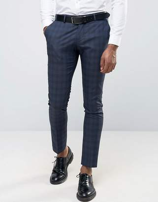 Selected Wedding Check Suit Pants $56 thestylecure.com