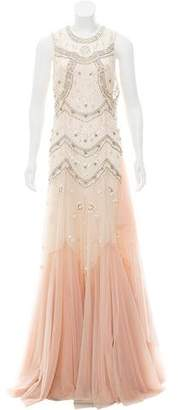 Needle & Thread Beaded Evening Dress