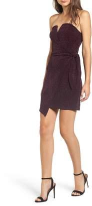 Rowa Row A Glitter Knit Tube Dress
