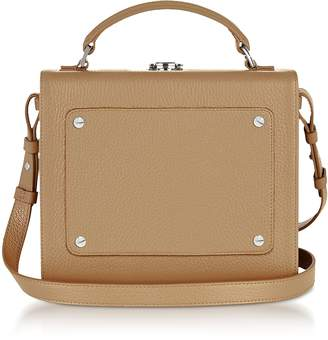 Meli-Melo Light Tan Leather Art Bag