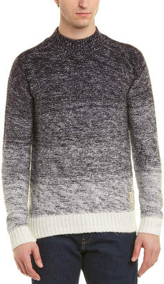 Scotch & Soda Chunky Mohair-Blend Crewneck Sweater