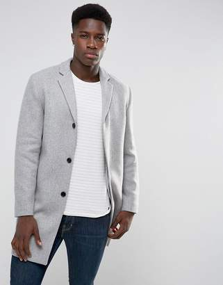 Selected Wool Mix Overcoat